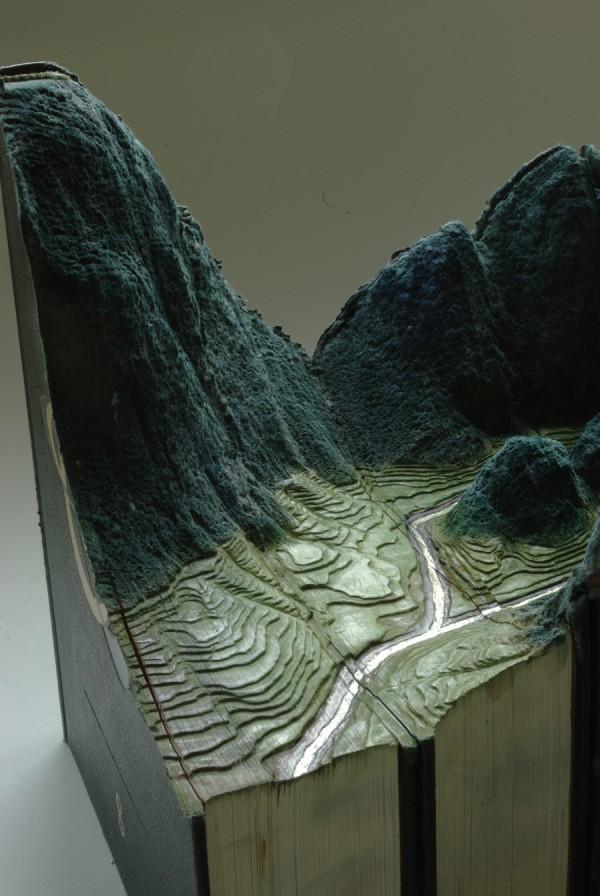 Пейзаж от книга