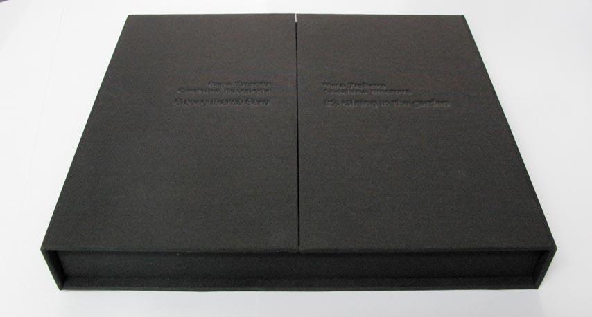 Лимитирана серия книги с твърда подвързия под формата на кутия